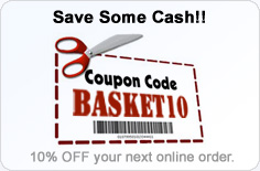 Coupon Code for 10% OFF -- BASKET10