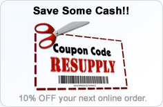 Coupon Code for 10% OFF -- RESUPPLY