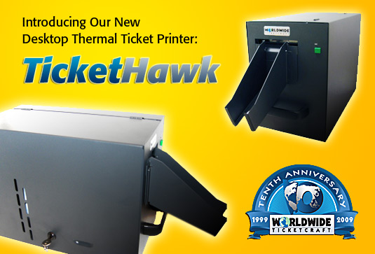 TicketHawk Desktop Thermal Ticket Printer