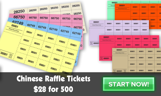 Worldwide Manufactures Admission Tickets Raffle Tickets