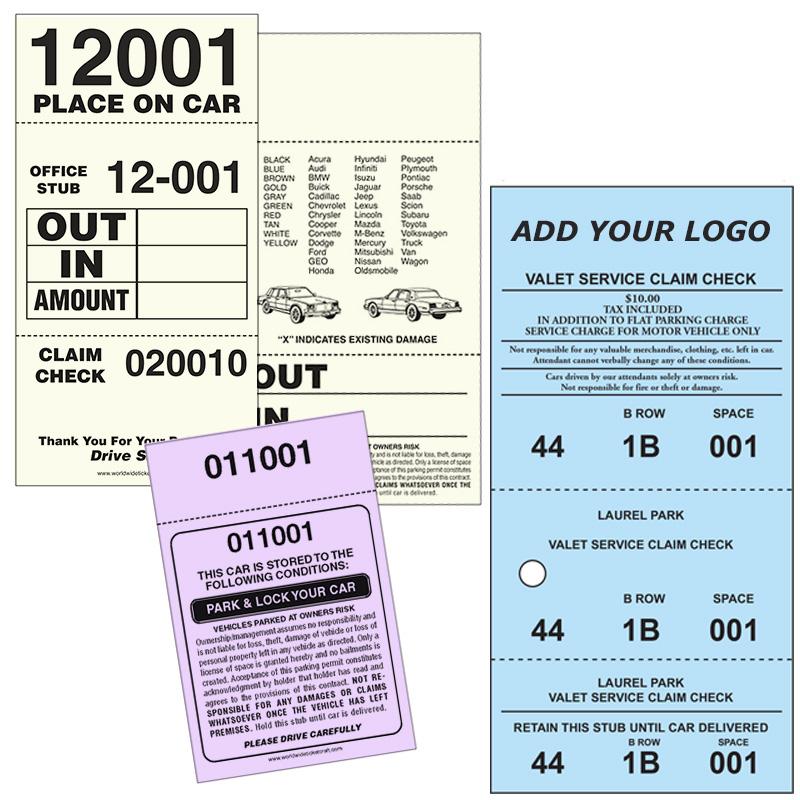 Valet parking products valet parking tickets stopboris Gallery